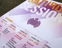 Ministry of Sound - Typographic Poster Entry by Jack Fish, via Behance