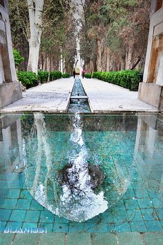 The Persian Garden Recognized by UNESCO as a world heritage site .