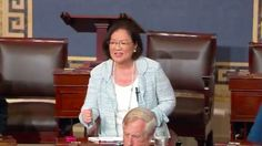 Sen. Mazie Hirono Holds Back Tears During Impassioned Health Care Plea