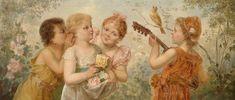 Alenquerensis: Hanz Zatzka (1859 - 1945), Austrian Painter