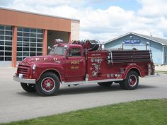 Early 50's GMC/Bickle-Seagrave pumper...