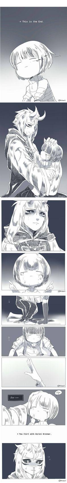 Asriel x Frisk