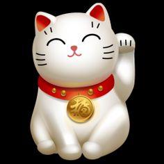 Sanbiki Restaurant Blog: MANEKINEKO: The Good Luck Cat