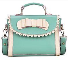 Kawaii Retro Bow Handbag $30