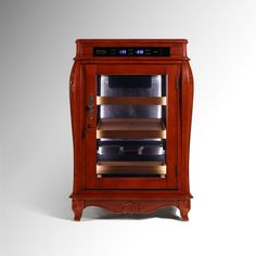 European Style Electronic Wooden Cigar Humidor Cabinet,Electric Humidor.