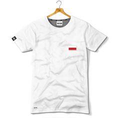 Polska Flaga naszywka - Kolekcja Dyskretna