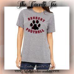 BEARCAT FOOTBALL | Women's Favorite Tee | women's clothing | apparel | tshirt…
