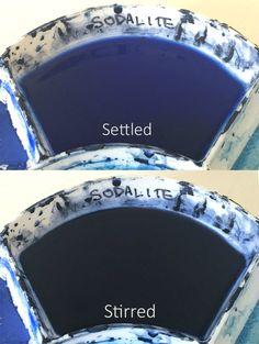 You can see the difference below between the settled and stirred Sodalite Genuine Watercolor. Watercolor Canvas, Watercolor Sketch, Watercolour Painting, Watercolor Techniques, Painting Techniques, Water Containers, Painting Process, Paint Colors, Water Colors