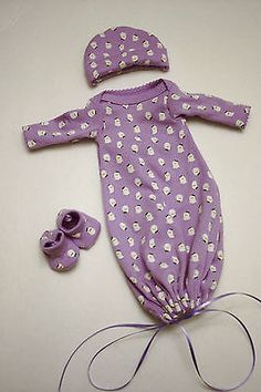 Reborn Doll Clothing Preemie Infant Size by katiescarousel