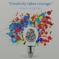 Creativity takes courage. We honor & celebrate our fellow brain injury survivors & #caregivers (a.k.a. real-life #superheroes) who use their #creativity to cope & live the best lives possible on the journey forward after brain injury. #TBITalk #braininjuryawarenessmonth #TBI