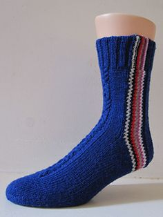 This is the Mystery sock for the March 2013 Sockdown in the Sock Knitters Anonymus group, i.e. the SKA MOCK.