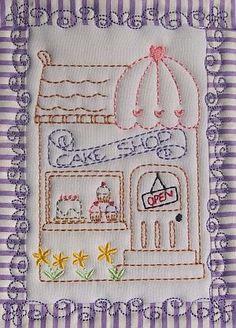 The Cake Shop - Erinas Designs | OregonPatchWorks