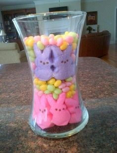 Simple Easter 'centerpiece' for my kitchen island...