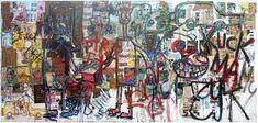 Aboudia, Kuck ma, 2012 - Pigozzi Collection 2014 - Contemporary African Art Collection