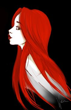 red hairs awesome by ~BexHappy on deviantART