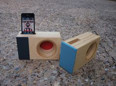 Design Your Own DOCK Box Acoustic iPhone Amplifier by IndexDrums