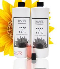 "Jane Carter Solution Wrap & Roll 32oz""Pack of 2""+Free Roll-on Body Oil by Jane Cosmetics. $33.00. Jane Carter Solution Wrap & Roll 32oz. Free Roll-on Body Oil. Jane Carter Solution Wrap & Roll is a light foaming mousse designed for wrapping, setting and smoothing hair. It's amazing ! It dries quickly, leaves your hair soft, adds outstanding shine and does not flake. Great for smooth styles and managing frizz !    Directions for wrapping, styling and setting : Pump foam onto..."