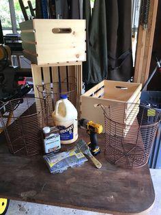 unité de stockage de caisse, organisation, repurpose articles ménagers, repurposing upcycling, idées de stockage