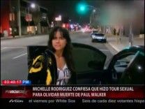 Michelle Rodriguez Confesó Que Tuvo Un Tour Sexual Para Poder Superar La Muerte De Paul Walker #Video