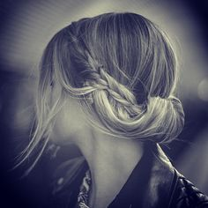 Photo by instabraid. A braid going into a twist thing. My vocabs very advanced
