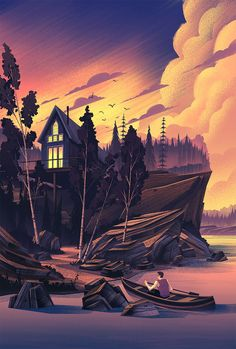 Fantastic Illustrations by Brian Edward Miller