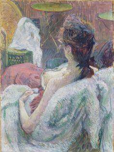 The Model Resting by Henri de Toulouse-Lautrec