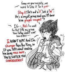 Vegeta And Bulma, Goku, Anime Was A Mistake, Ssj3, Anime Family, Popular Anime, Dragon Ball Gt, Db Z, Mystic Messenger