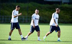 Gary Medel entrena con el Inter de Milan