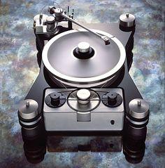VPI HR-X turntable JMW12.6 tonearm. http://www.pinterest.com/TheHitman14/the-record-player-%2B/