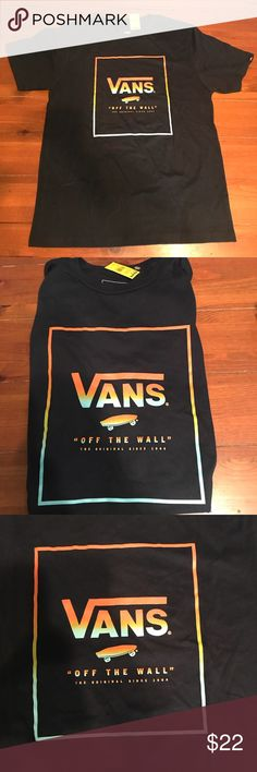 Boys Vans T-Shirt 🏂 NWT Vans boys dark blue t-shirt. Cool skater tee for the special little man in your life! Vans Shirts & Tops Tees - Short Sleeve