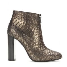 Tom Ford - Snakeskin ankle boots