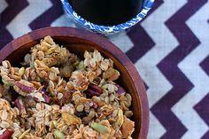Pecan Raisin Granola - Dirty Gourmet