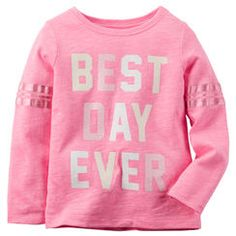 Neon Best Day Ever Tee