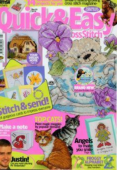 Cross Stitch Tree, Cross Stitch Books, Mini Cross Stitch, Cross Stitch Cards, Simple Cross Stitch, Cross Stitch Animals, Cross Stitching, Cross Stitch Embroidery, Embroidery Patterns