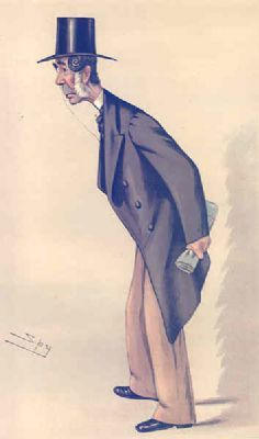 VANITY FAIR SPY CARTOON. John Hinde Palmer QC 'Lincoln'. Lincs. By Spy. 1883