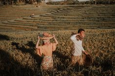 This Couple's Engagement Shoot Depicts the Simple Filipino Life and We Love It! Outdoor Maternity Photos, Outdoor Engagement Photos, Engagement Shoots, Wedding Themes, Wedding Blog, Wedding Decor, Dream Wedding, Filipiniana Wedding Theme, Filipino Culture