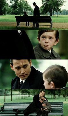 """""""....because she's on every page of your imagination. You'll always have her there. Always. """" Finding NeverLand"""