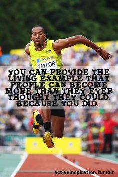 Track :)   LOVE THIS! I REALLY do believe that EVERYONE is GREAT at SOMETHING.....It's just a matter of finding that PASSION & nurturing it! Why SIT & be a WASTE?!