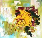 ☼❃ Basking in Sunshine. Abstract Oil Painting on Board. Contemporary Arti... http://ebay.to/2jYlBe5