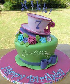 tea party cake | Elena -