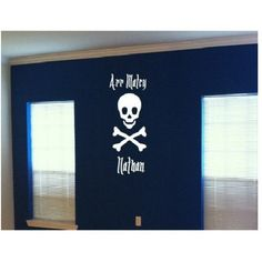 Jolly Roger Arr Matey personalized with name via Etsy