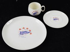Dodgers Blue Heaven: A Look at some Vintage Brooklyn Dodgers China