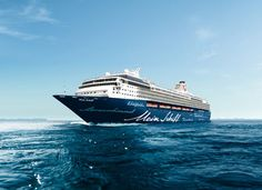 The Century Class Mein Schiff 1 will grace the River Mersey for the first time ever on Saturday 25 July 2015. #cruiseliverpool