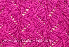 knitting patterns, braided lace knit stitch