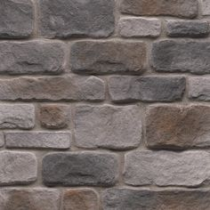 StoneCraft Gray Cobblestone Flats - to cover foundation Corner Stone Fireplace, Fireplace Redo, Brick Fireplace, Stone Veneer Exterior, Manufactured Stone Veneer, House Foundation, Stone Molds, Flat Stone, Exterior Paint Colors