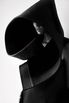 Chinese fashion designer Qiu Hao's garment futurism.