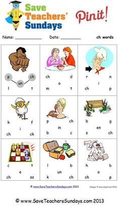 Year 1  Ch worksheets, lesson plans and other primary teaching resources