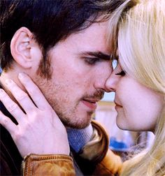 "Emma & Killian - Once Upon a Time 4x09 ""Fall"" #CaptainSwan"