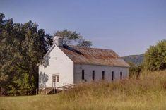 Marcella Church & School - Stone County