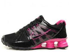 Cheap Nike Shox Agent Women Black Pink Shoes 3906079